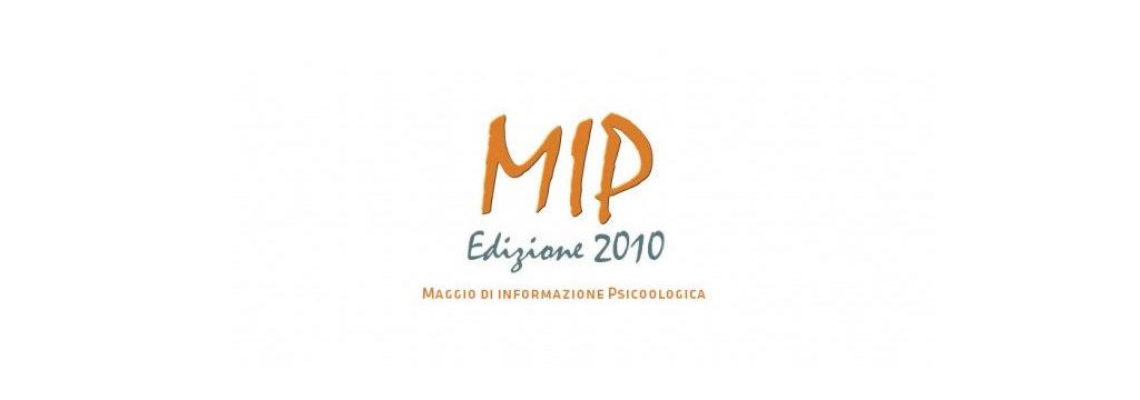 MIP 2010 - Maggio di Informazione Psicologica