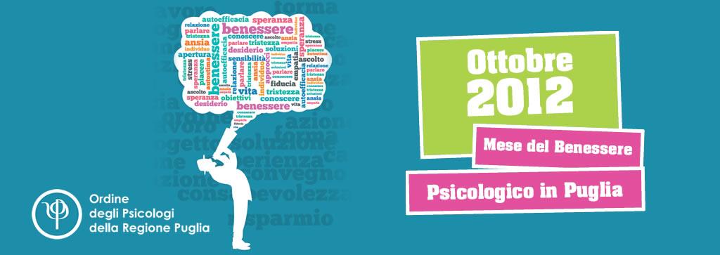 mese del benessere psicologico in puglia 2012