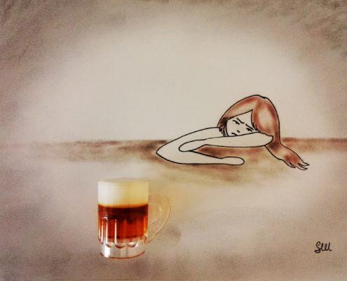 Mi vergogno di bere!
