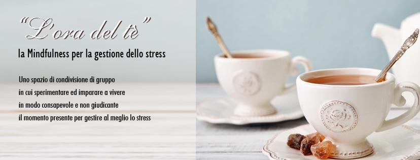 L'ora del tè, la Mindfullness per la gestione dello stress